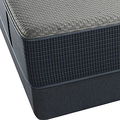 Beautyrest® Silver™ Hybrid Newport Harbor Ultimate Plush Low Profile Queen Mattress Set