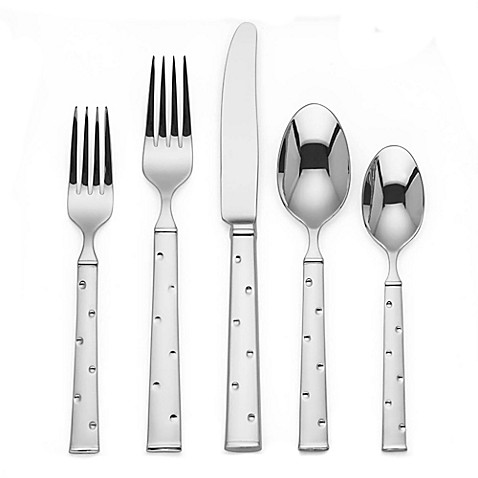 kate spade new york Larabee Dot™ 20-Piece Flatware Set