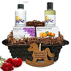 image of Pure Energy Apothecary Daily Delight Pure Aromatherapy Baby Gift Basket