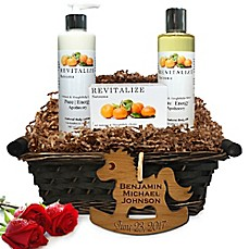 image of Pure Energy Apothecary Daily Delight Satsuma Baby Gift Basket