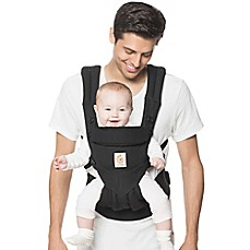 image of Ergobaby™ Omni 360 Baby Carrier in Pure Black