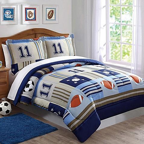 Laura Hart Kids Sports Comforter Set Bed Bath Amp Beyond