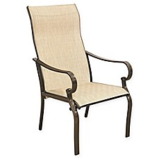 Never Rust Aluminum Sling Dining Chairs Set Of 2