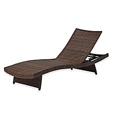 image of Destination Summer Pool Chaise Lounge in Bronze