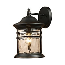 image of Landmark Lighting Madison Outdoor Sconces (Matte Black)