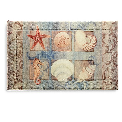 Seashell Rug Home Decor
