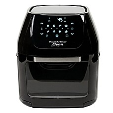 image of 6-Quart Power Air Fryer Oven in Black