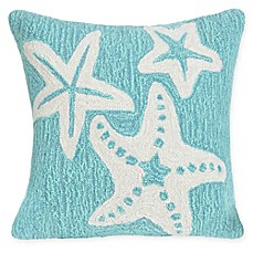 image of Liora Manne Starfish Indoor/Outdoor Square Throw Pillow