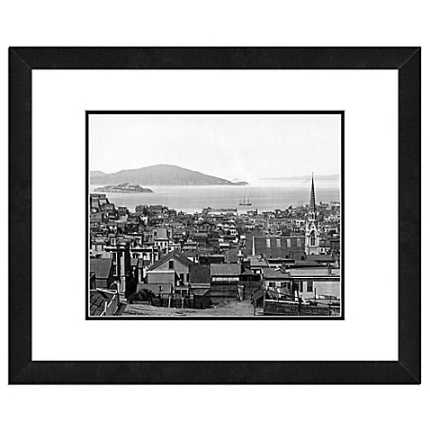 Buy san francisco 18 inch x 22 inch framed wall art in for Buy art san francisco
