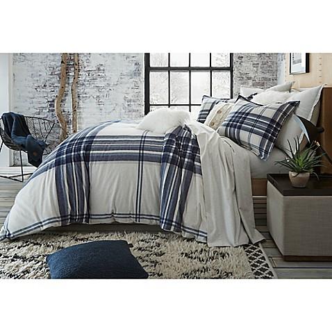 Ugg Reg Dakota Plaid Cotton Flannel Duvet Cover