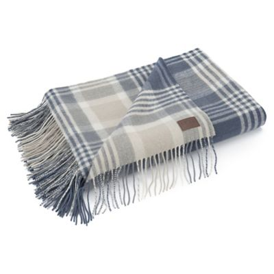 image of UGG® Charger Plaid Wool Throw Blanket