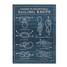 Image Of Trademark Fine Art U0027Vintage Sailing Knots Iu0027 Wall Art. Quick View