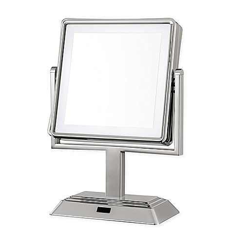 Buy Conair® Square LED 1x/5x Lighted Vanity Mirror in ...