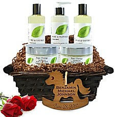 image of Pure Energy Apothecary Ultimate Body Pure Natural Gift Set for Baby with Basket