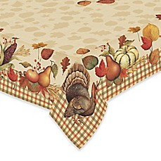 Wonderful Image Of Laural Home® Bountiful Harvest Tablecloth