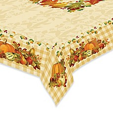Image Of Laural Home® Happy Harvest Tablecloth