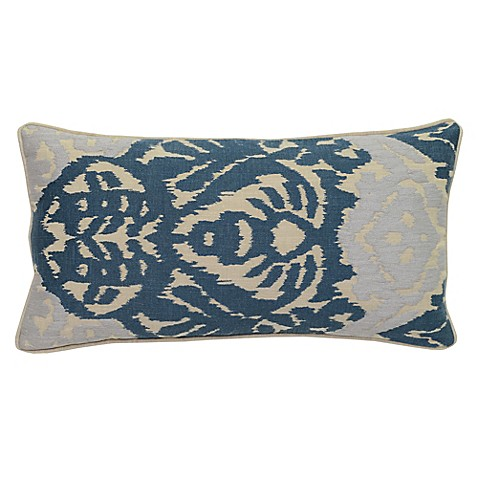 Villa Home Decorative Pillows : Villa Home Rena Oblong Throw Pillow in Harbor - Bed Bath & Beyond