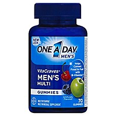 image of One A Day® VitaCraves® 70-Count Men's Multivitamin Gummies in Fruit
