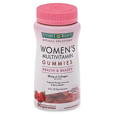 Nature S Bounty Women S Multivitamin Gummies