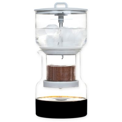 Buy Bruer Slow Drip Cold Brew Coffee Maker in Grey from Bed Bath & Beyond