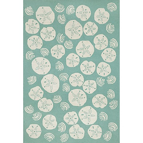 Trans-Ocean Shell Toss Indoor/Outdoor Rug