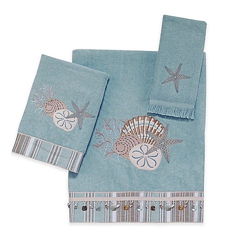Avanti By The Sea Bath Towel Collection In Mineral Bed