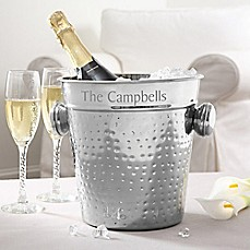 image of Hampton Collection Engraved Chiller/Ice Bucket