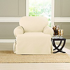 image of Sure Fit® Heavyweight T Chair Cover