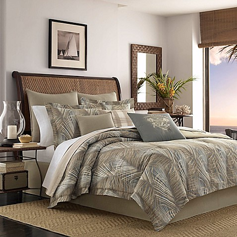 Tommy bahama raffia palms duvet cover bed bath beyond tommy bahamareg raffia palms duvet cover gumiabroncs Gallery