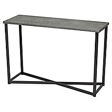 Household Essentials® Faux Concrete Slate Console Table In Grey