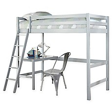 image of Hillsdale Caspian Twin Study Loft Bed