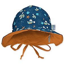 My SwimBaby® Navy Sea Friends Sun Hat