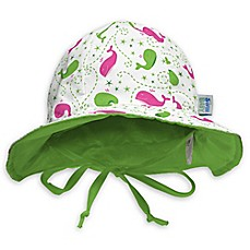 image of My SwimBaby® Size Small Wilma the Whale Sun Hat