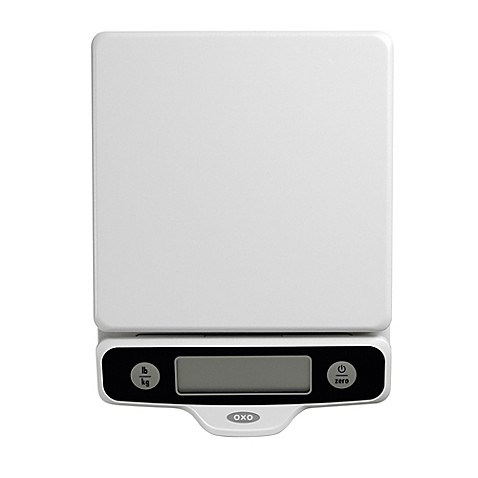 Oxo Good Grips 174 5 Pound Food Scale With Pull Out Display