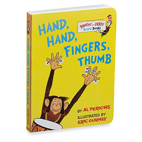 Dr. Seuss\' Hand, Hand, Fingers, Thumb Board Book - Bed Bath & Beyond