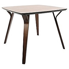 image of LumiSource Folia Dining Table in Brown