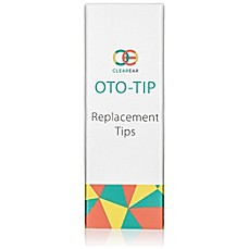 image of Clear Ear Oto-Tip 10-Pack Child and Adult Replacement Tips