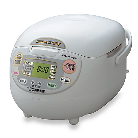 Zojirushi Neuro Fuzzy® 5.5-Cup Rice Cooker & Warmer