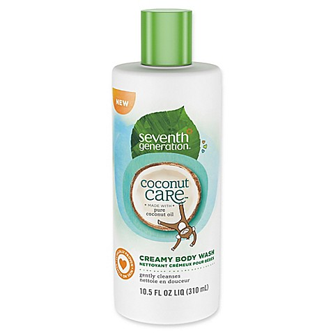 seventh generation 10 5 oz coconut care creamy body wash buybuy baby. Black Bedroom Furniture Sets. Home Design Ideas