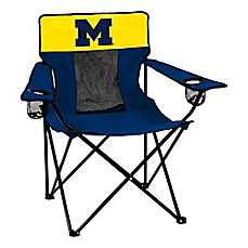 image of University of Michigan Elite Folding Chair