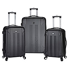 image of Traveler's Club® Chicago 3-Piece Hardside Spinner Luggage Set