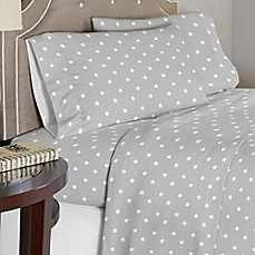lullaby bedding space sheet set in greywhite - Space Bedding