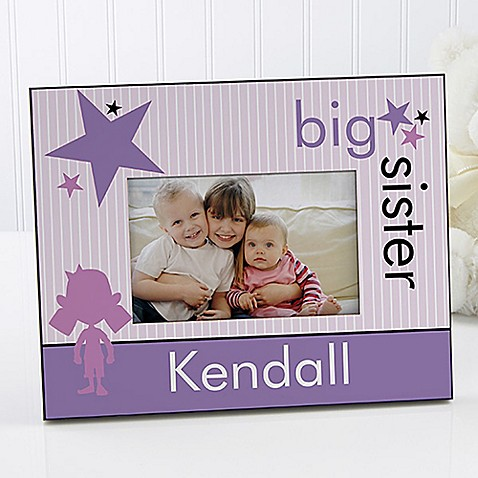 Big Baby Brother/Sister 4-Inch x 6-Inch Picture Frame - Bed Bath ...