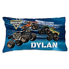 image of Monster Jam Arena Madness Pillowcase in Blue