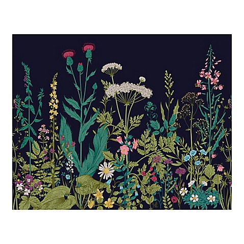 Buy botanical fleur 9 foot 10 inch x 8 foot 1 inch wall for Botanic fleurs artificielles