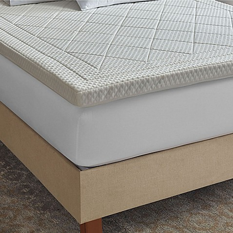 Therapedic 174 Quilted Deluxe 3 Inch Memory Foam Bed Topper