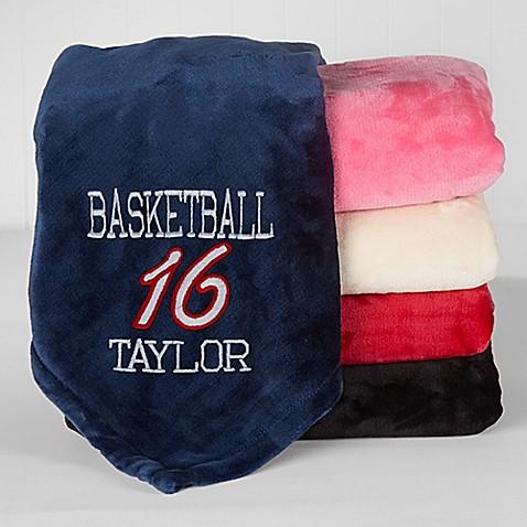 Sports 50 Inch X 60 Inch Fleece Throw Blanket Bed Bath