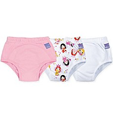 image of Bambino Mio® 3-Pack Fairy Potty Training Pants in Pink