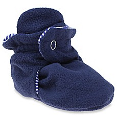 image of Capelli New York Fleece Slipper in Navy