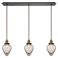 image of elk lighting bartram pendant in oil rubbed bronze